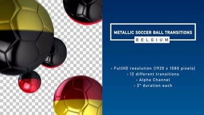 Metallic Soccer Ball Transitions - Belgium