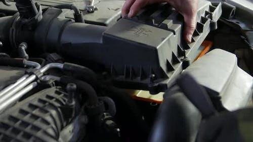 Neuer Auto-Luftfilter