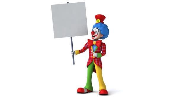 Thumbnail for Fun cartoon clown