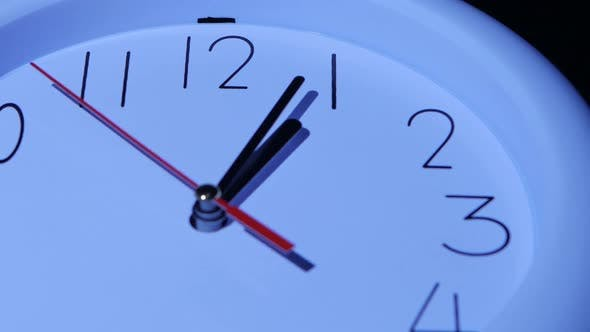 Thumbnail for Business Clock Closeup on White Background