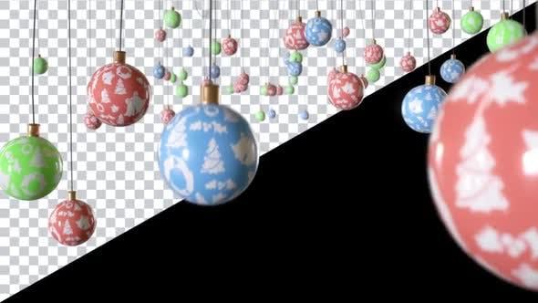 Thumbnail for Dangling Christmas Balls