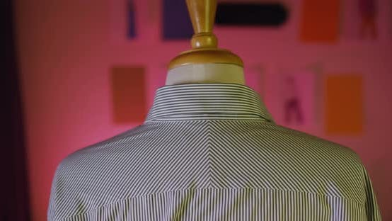 Thumbnail for Tailor Measuring Shoulder Length 18b