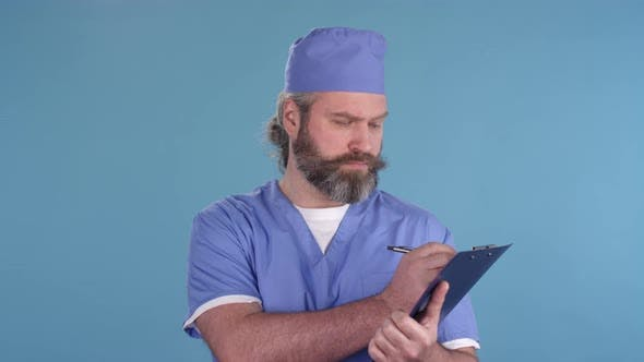 Thumbnail for Portrait of Middle-Aged Doctor