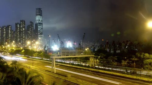 Hong Kong Freeway Time Lapse