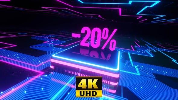 Neon 20% Off 4K