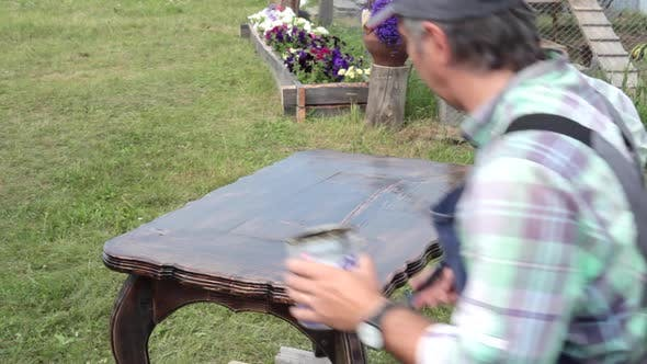 Thumbnail for Final Coverage of the Restore Table. DIY Woodworking