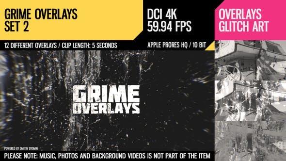 Thumbnail for Grime Overlays (4K Set 2)