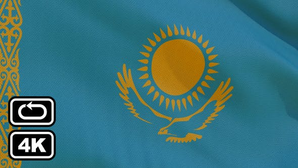 Thumbnail for Kazakhstan Flag