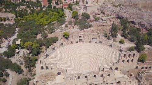 Amphitheater oder Akropolis