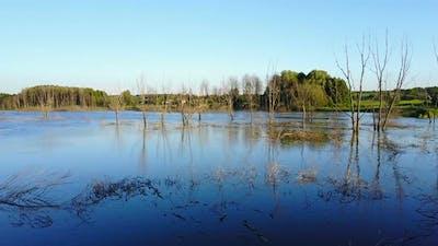 Earth Extreme Climate Change Landscape