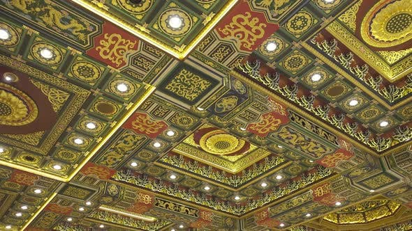 Thumbnail for Ceiling of Temple, Po Lin Monastery in Hong Kong