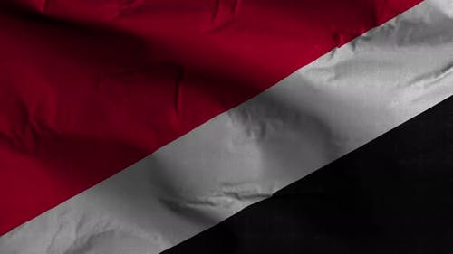 Sealand Principality Of Flag Textured Waving Background 4K