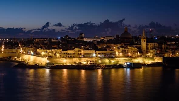 Thumbnail for Morning Time Lapse of Valletta, Malta
