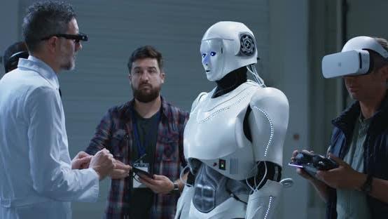 Thumbnail for Wissenschaftler testen Roboter Gesten