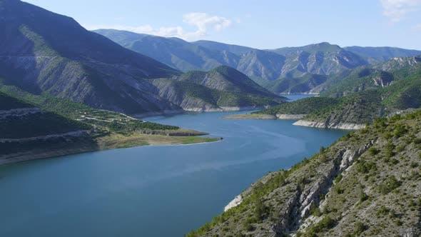 Thumbnail for Nature Vardar River in tranquil idyllic scene, Matka Canyon, Macedonia