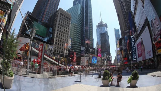 Thumbnail for Times square Super wide Time Lapse FUll HD