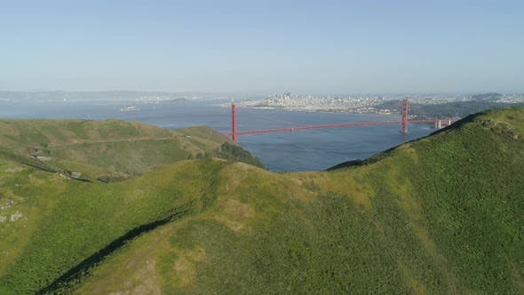 Thumbnail for Aerial view of Golden Gate Bridge
