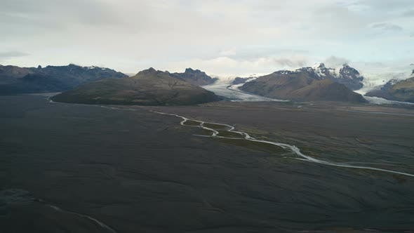 Thumbnail for Mysterious Mountains Landscape In Iceland