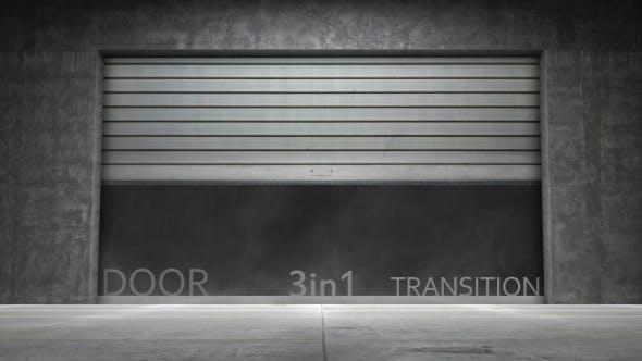 Transition de porte