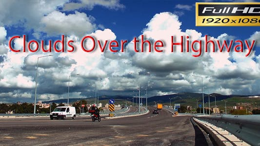 Thumbnail for Clouds Over the Highway Time Lapse