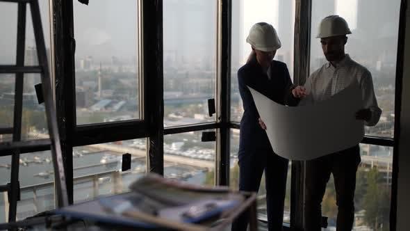 Designers Planning Apartment Interior Space