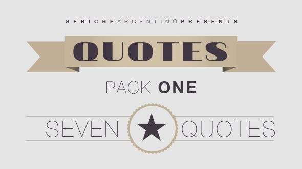 Thumbnail for Quotes Pack 1