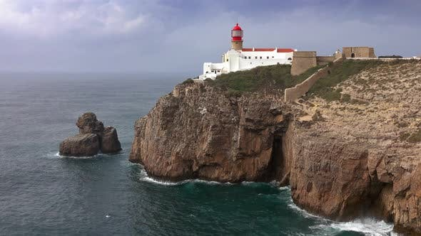 Thumbnail for Lighthouse of Cabo Sao Vicente, Sagres, Portugal
