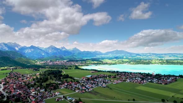 Thumbnail for Forggensee and Schwangau, Germany, Bavaria
