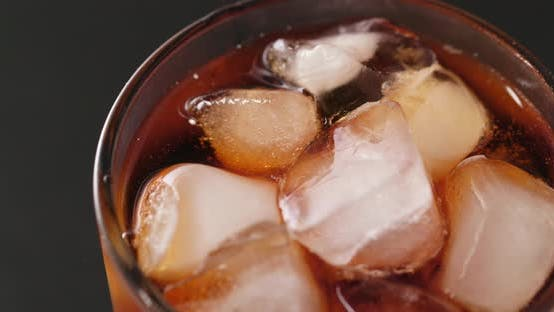 Thumbnail for Iced soft drink close up