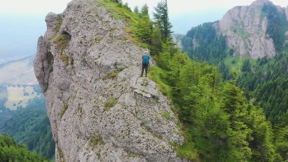 Mountaineer on the Edge
