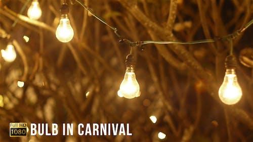 Glühbirne im Karneval