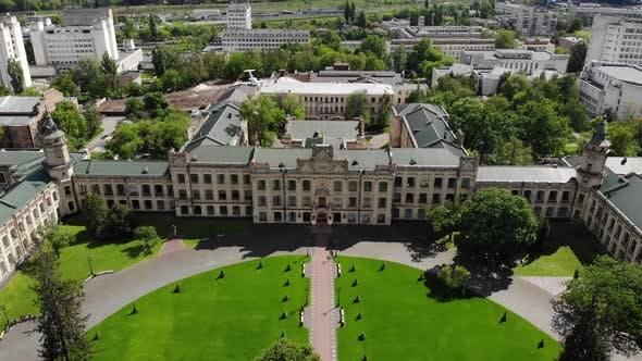 Old University Cityscape