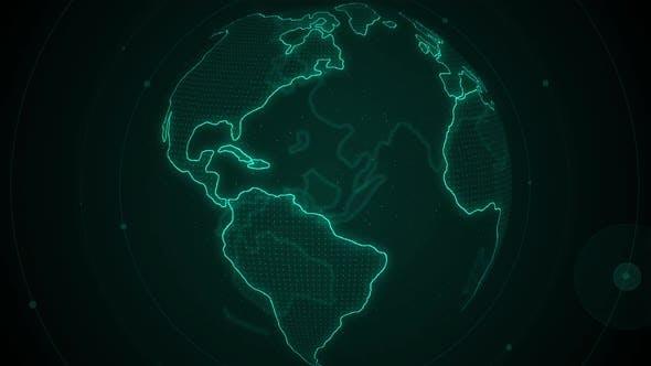 Thumbnail for Digital Earth Rotation