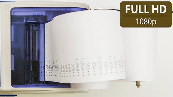 Thumbnail for Accounting Printing Calculator