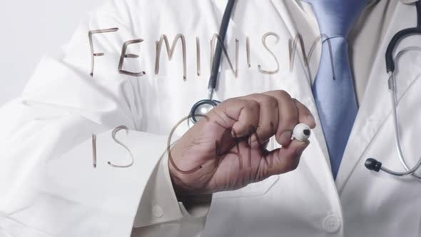 Asian Doctor Writing Feminism Is Cancer