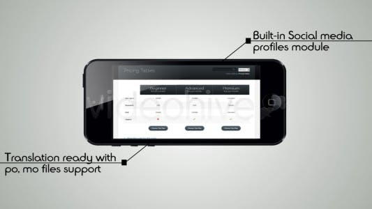 Thumbnail for Clean Responsive Theme Showcase