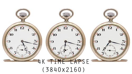 3 Uhren Uhren (4k Auflösung)