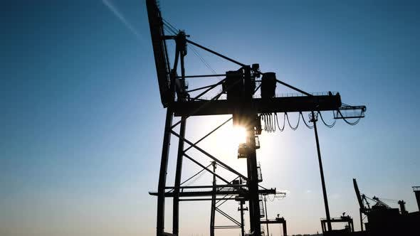 Thumbnail for Crane in Cargo Harbor