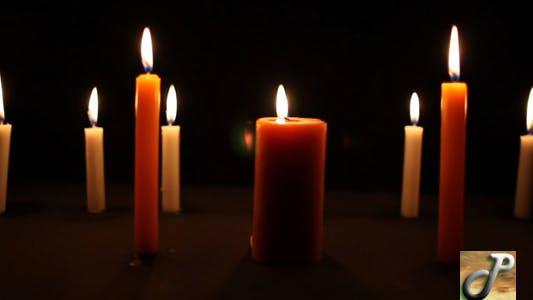 Kerzen Pfanne