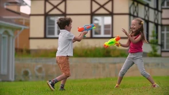 Thumbnail for Water Gun Battle