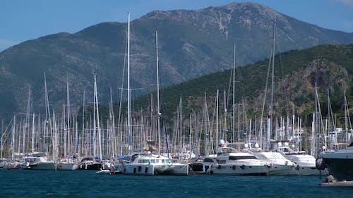 Yachts Marina in Fethiye