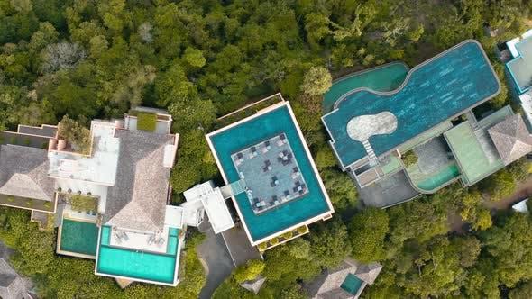Thumbnail for Villa and Beach Club Aerial View in Phuket, Thailand