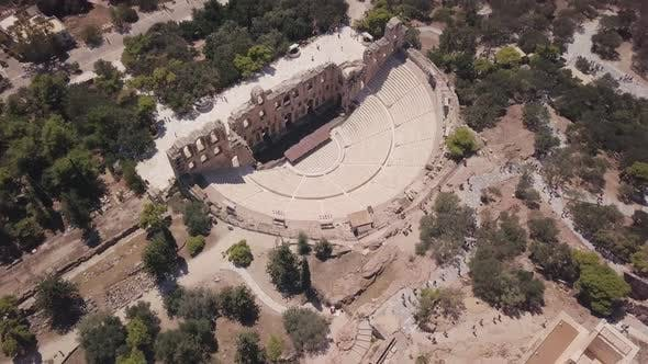 Thumbnail for Roman Amphitheater next to Acropolis of Athens, Greece