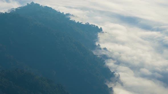 Thumbnail for Mountain And Fog Nature Landscape