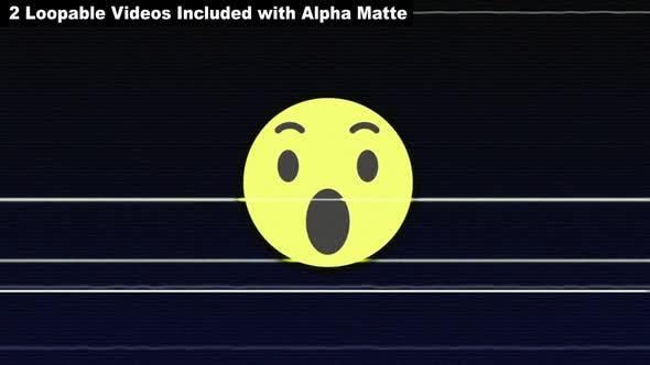 WOW Glitch Emoji