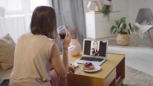 Online Meeting With Best Friend