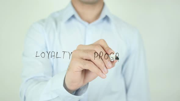 Thumbnail for Loyalty Program, Writing On Screen