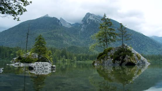 Thumbnail for Hintersee Lake Near Ramsau in the Berchtesgaden, Bavaria, Germany, Europe