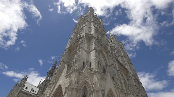 The Basilica of the National Vow in Quito