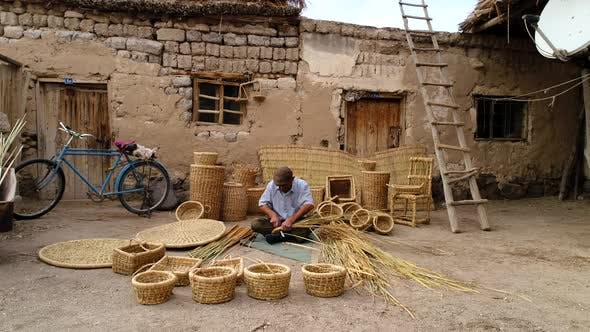 Thumbnail for Traditional Craft Of Weaving Baskets